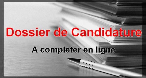 Dossier de candidature 2020