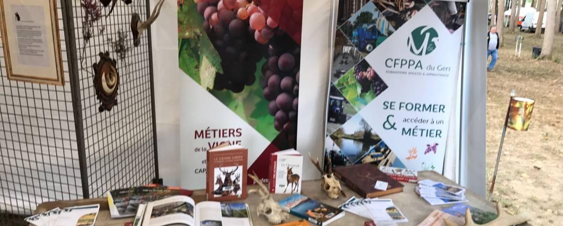 La filière Nature du Lycée Agricole de Riscle représentée à Estang