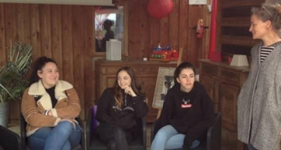 Visite du domaine d'Escapa à Estipouy lors de la semaine de sensibilisation au Dévéloppement Durable