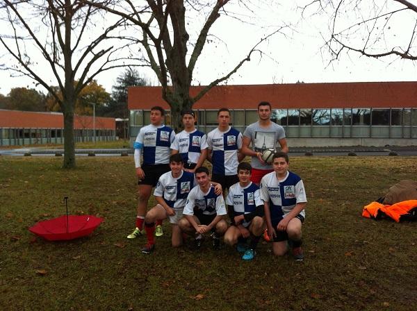 Rugbymen Lycée Agricole Riscle