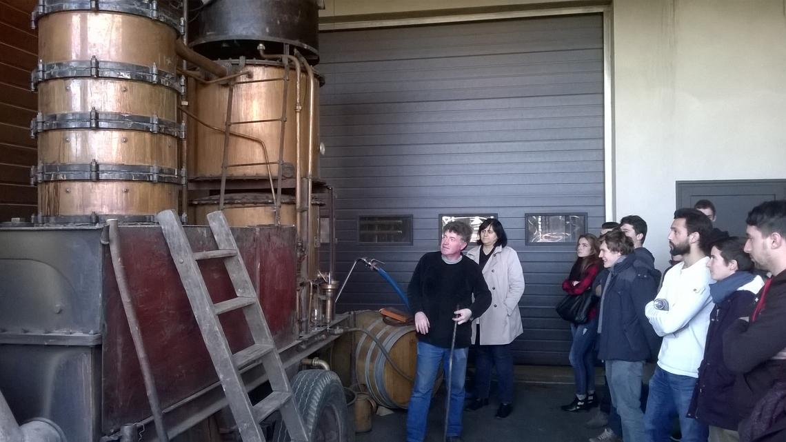 Distillation Lycée Agricole Riscle